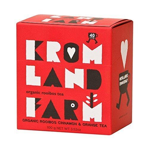 Kromland Farm 20% OFF Rooibos Cinnamon & Orange 40 Bag (order 6 for trade outer) by Kromland Farm