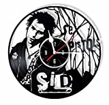 HMGift SEX PISTOLS vinyl wall clock - great gift for birthday, anniversary or any other occasion - beautiful home decor - unique design that made out of retro vinyl record …