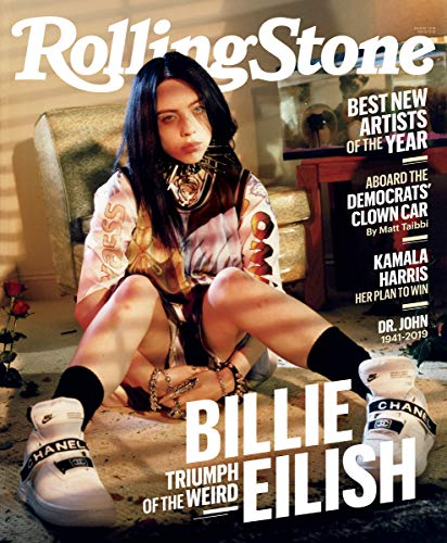Rolling Stone Magazine (August, 2019) Triumph of the Weird Billie Eilish Cover