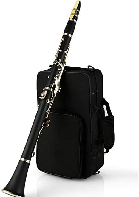 LVSSY-17 Clave Clarinete BB Flat Clarinete de Alto Grado Jugando con Estuche Buen Material Buen Sonido: Amazon.es: Deportes y aire libre