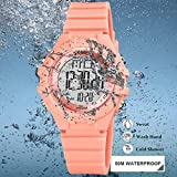 CakCity Kids Digital Sport Waterproof Watch for