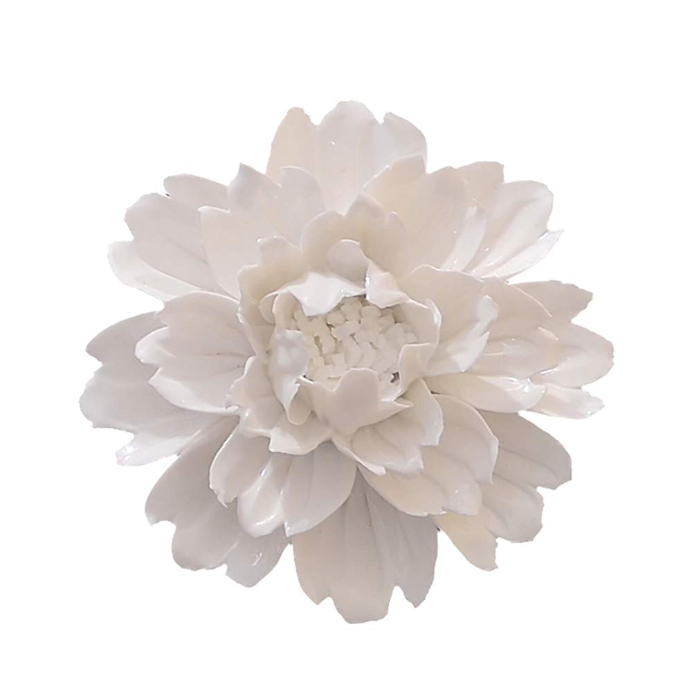 Ceramic Flower Wall Decor