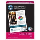 Wholesale CASE of 25 - HP Multipurpose Copy Paper-M/Purpose Paper,20Lb,8-1/2''x11'',96 GE/112 ISO,500/RM,WE