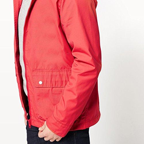 Rosso Uomo Con Collections Cappuccio Giubbotto Impermeabile La Redoute HSxS81