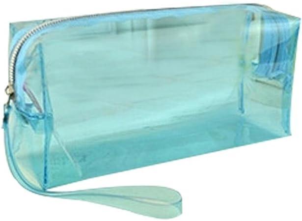 PROKTH Transparente Estuche, innovadora Gran Capacidad Completo Tono Color PVC lápiz Funda Estuche Student schreibwaren Bolsa Neceser: Amazon.es: Hogar