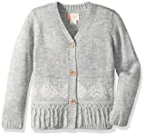 Roxy Little Girls' Fashion Sweater, Heritage Heather, 3
