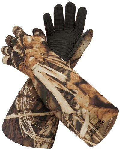 Glacier Glove Elbow Length Camo Decoy Glove (Max 5, Large)