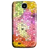 Brian114 Stylish Colorful Mosaic Pattern Case For Sumsung Galaxy S4