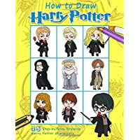 Image for How to Draw Harry Potter for Kids: Stress Relieving Coloring Book with 25 Step-By-Step Harry Potter Characters