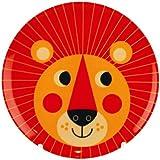 OMM-design Ingela P Arrhenius (インゲラ・アリアニウス) メラミンプレート (Lion/ライオン)