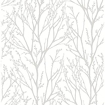 Roommates Birch Trees Peel And Stick Wallpaper