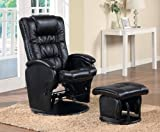 Coaster The Tyler Collection Glider I With Ottoman