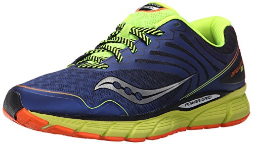 Saucony Men's Breakthru 2 Running Shoe, Blue/Cotton/Orange, 10 M US by Saucony