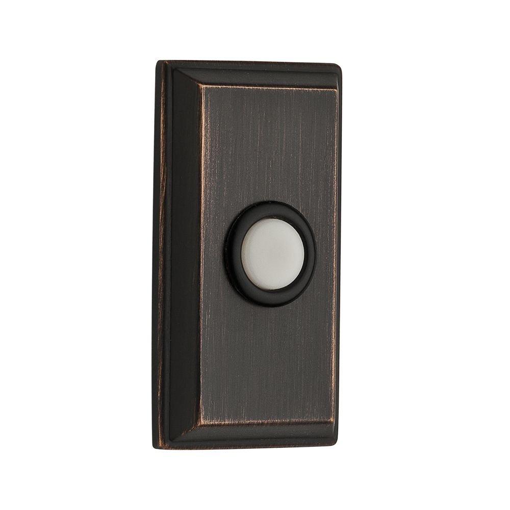 Baldwin 9BR7015-001 Rectangular Bell Button