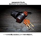 Exotac MATCHCAP XL Waterproof Match Case, Gunmetal