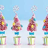 Glitterville Easter Tree Placecard Holders - Set of 4