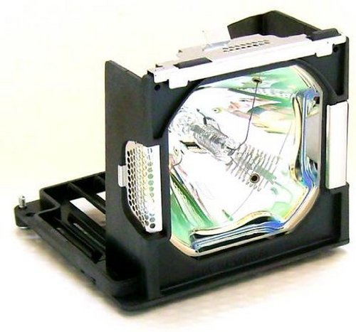 FI Lamps for Sanyo PLC-XP57L LCD Cage Assembly with Original OEM Projector Bulb