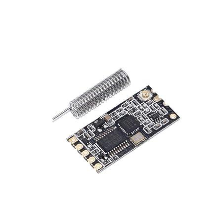 1Pcs 433Mhz HC-12 SI4463 Wireless Serial Port Module 1000m Replace Bluetooth NEW