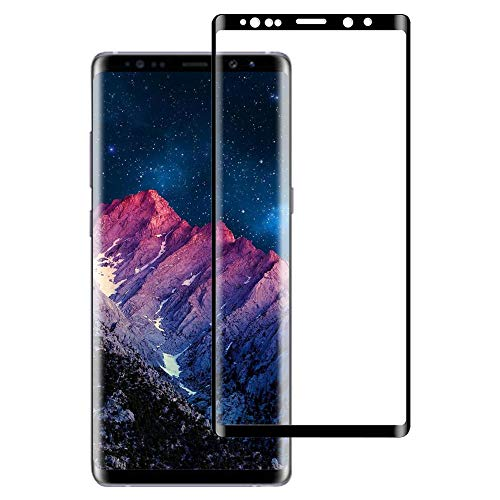 BNCHI Galaxy Note 9 Screen Protector, 3D Tempered Glass Full Coverage High Definition Clear Anti-Scratch Anti-Bubble Screen Protector for Samsung Galaxy Note 9(2018)