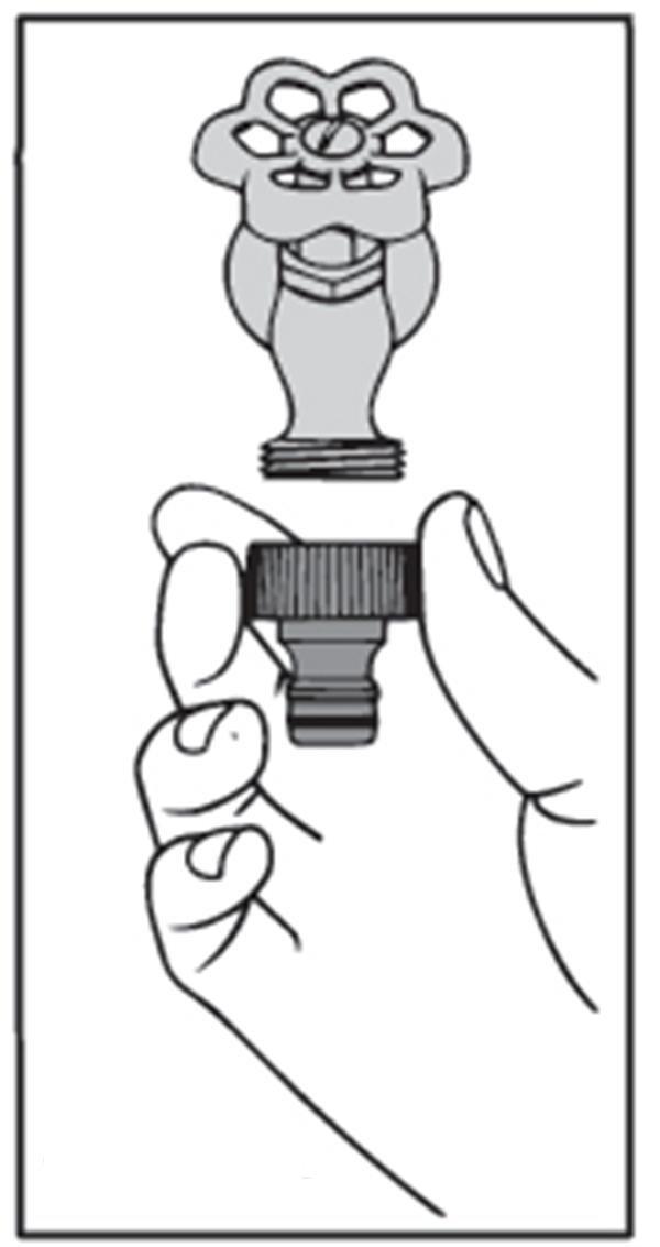 Gardena Faucet Tap Connector (2)