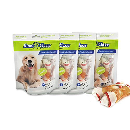Hum Cheer Dog Treats Puppy Training Snacks,Chicken Wrap Knitted - Cheers Good Really