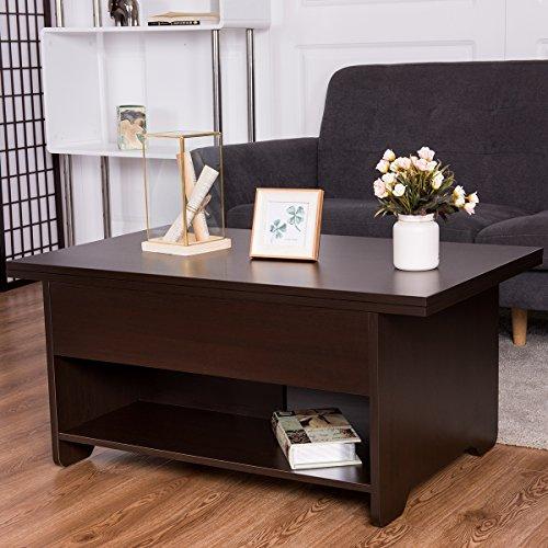 Coffee Table Hidden Chairs: Tangkula Lift Top Coffee Table Modern Living Room