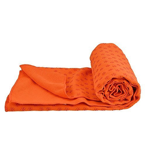 Bestek® Kidless Mat-size Yoga Towel Yoga Mat Towel Yoga Towels for Mat Hot Yoga Towel