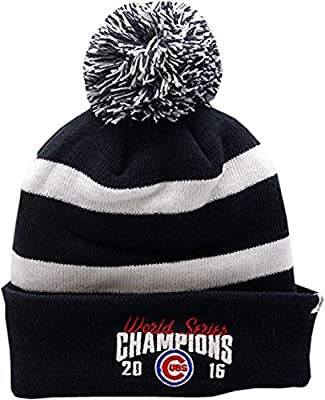 Chicago Cubs 2016 World Series Champions Breakaway Knit Beanie