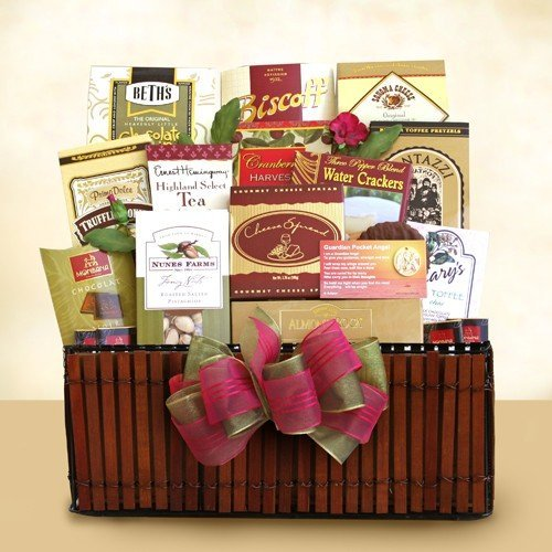 Always in Your Heart Gourmet Sympathy Gift Basket | Sympathy Gift Basket for that Special Occasion by Organic Stores