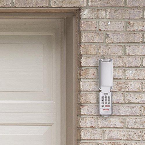 Overhead Door - Wireless Garage Door Opener Keypad - Weather-Resistant - OKP-BX - White,1 Pack by Overhead Door (Image #2)