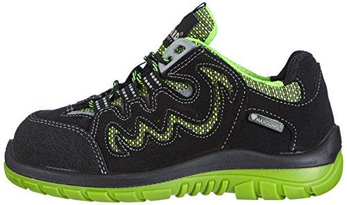 Maxguard Peac P380, Chaussures de sécurité Mixte adulte, Multicolore (grün/schwarz), Taille 43
