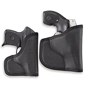 Desantis Nemesis S&W J-Frame/Bodyguard 38 Ambidextrous Black