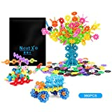 NextX Building Toys Stacking Blocks with Storage Bag, Educational Games and Learning Toys for Children,360 PCS