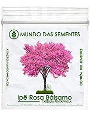 100 Sementes de Ipê Rosa Bálsamo - Tabebuia pentaphylla