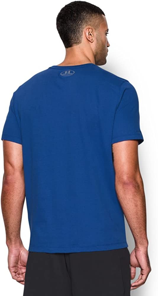 Under Armour Mens Ua Charged Cotton Microthread Short Sleeve Tee