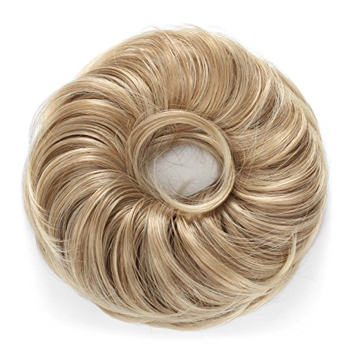 Onedor Synthetic Curly Elastic Hair Band Hairpiece Scrunchie Wig for Ponytail (15BT613)
