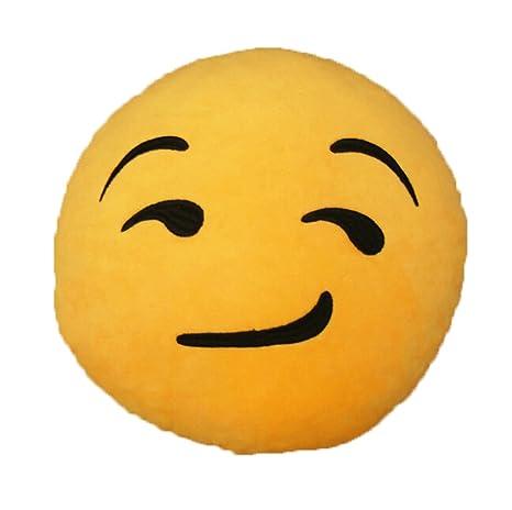 Amazon.com: boutique1583 Hold Throw almohada Emoticono Emoji ...