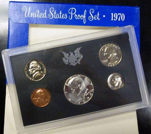 1970 Mint Proof Set