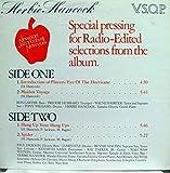 HERBIE HANCOCK V.S.O.P RADIO EDIT SELECTIONS vinyl record
