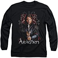 Manga larga: Lord of the rings-aragorn manga larga camisa