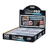 Ultra Pro Platinum 9 Pocket Secure Platinum Cards, Clear