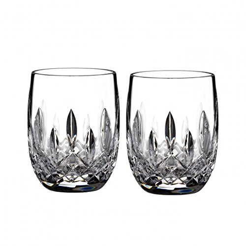 Waterford Lismore 7oz Rounded Tumbler, Pair