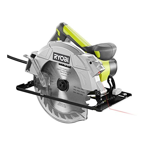 Ryobi CSB143LZK 14-Amp 7-1 4 in. Circular Saw with Laser Green