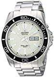 Orient Men's Automatic Stainless Steel Diving Watch, Color Silver-Toned (Model: FEM75005R9)