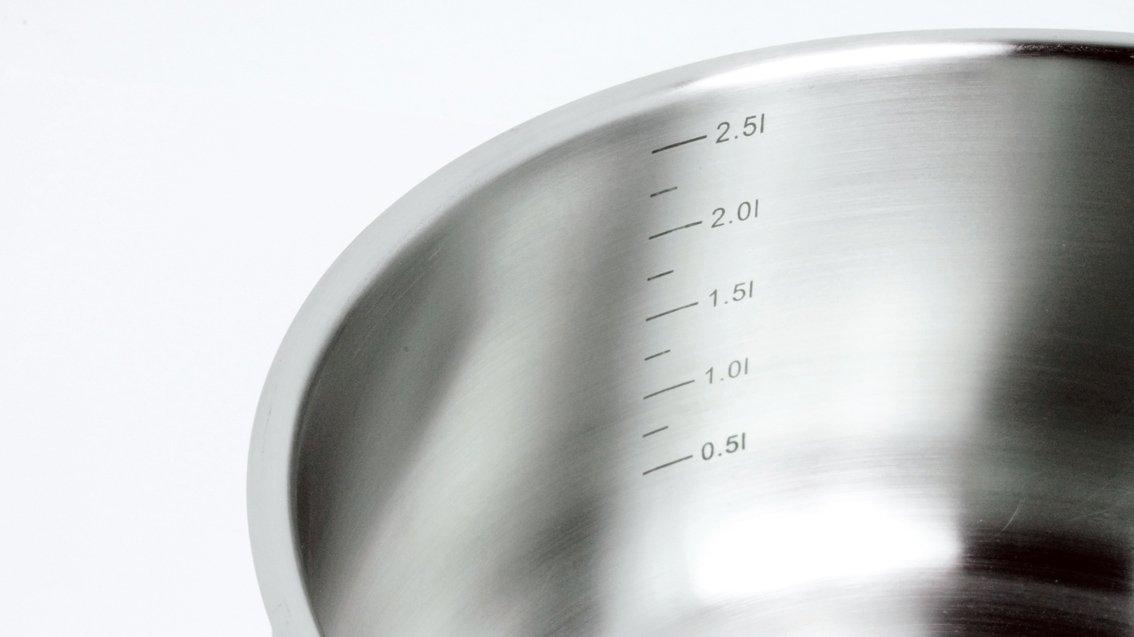 Backen 161116 Crystal Casserole Inox 16 cm