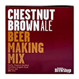 Brooklyn Brew Shop Chestnut Brown Ale 1 Gallon All-Grain Beer Making Mix Including Hops and Yeast - Perfect for Brewing Craft Beer on Your Stovetop at Home