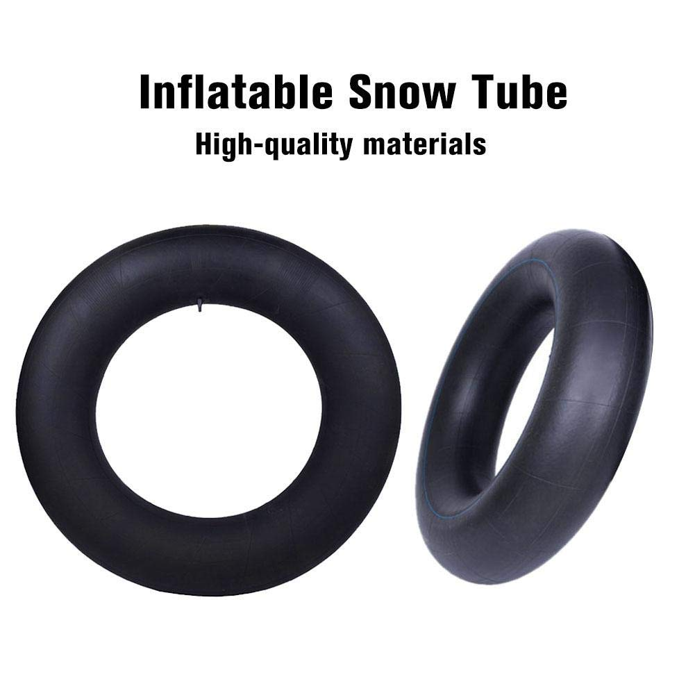 fancyU Tubo Interno Ski Circle Espesar Resistente A La Rotura Tubo De Nieve Nadar Tubo Interno Inflable Al Aire Libre