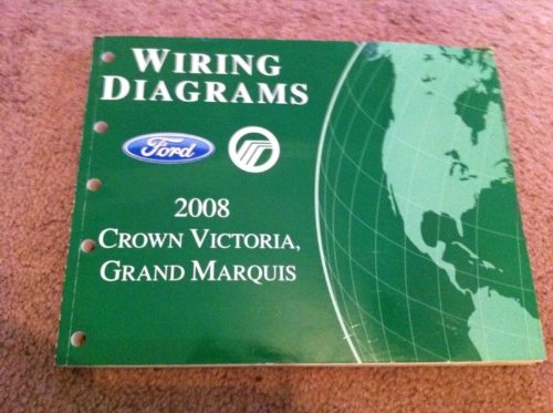 Read Online 2008 Crown Victoria & Grand Marquis Original Wiring Diagram Manual pdf