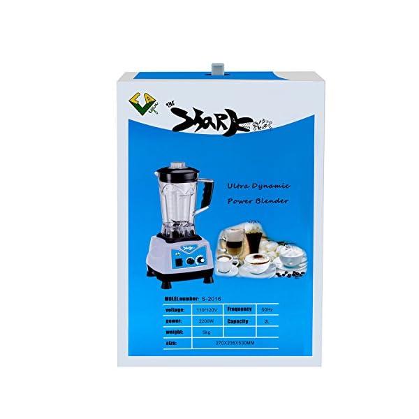 LA-Vegan-Shark-3-Horse-Power-Blender-Professional-High-Performance-nut-milk-Smoothie-Maker