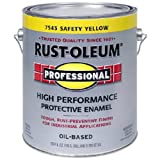 RUST-OLEUM 242258 Professional Gallon Safety Yellow Finish
